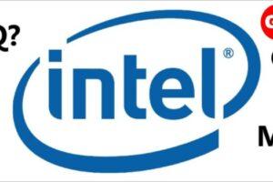 What are Intel Processor Suffixes