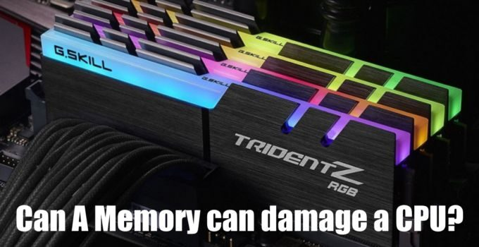 Can Memory DAMAGE Your CPU?