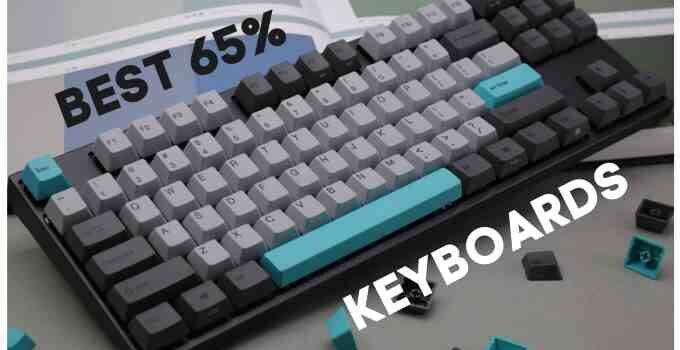 8 best 65 percent keyboards